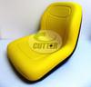 Yellow Low Back Seat - Fits John Deere