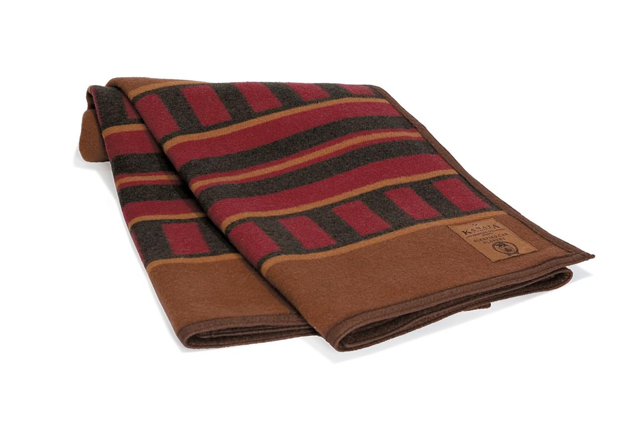 Car Blanket: Canadian Pacific Railway Sleeping Car Wool Blanket