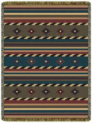Buy Cherokee Trail Tapestry Throw Blanket Blankets Com