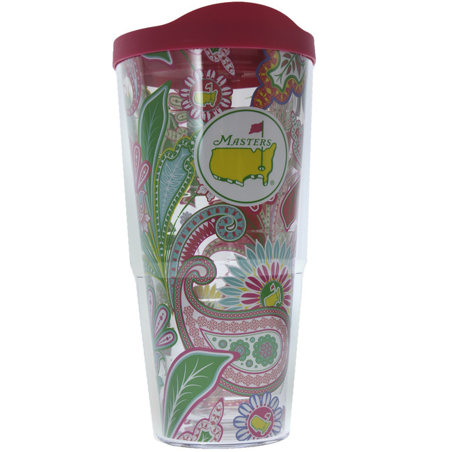 Masters 24 oz Tervis Tumbler - Floral Paisley Print