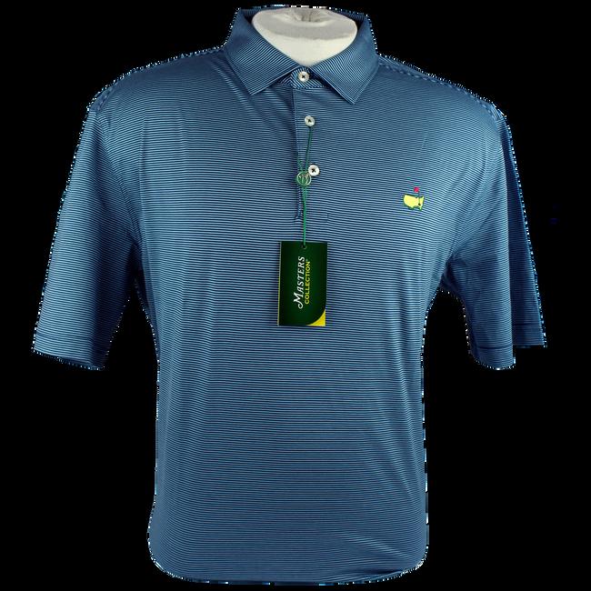 Masters Jersey Navy/Light Blue Golf Shirt Polo