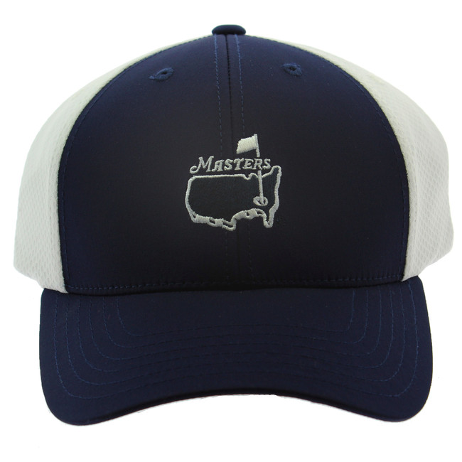 Masters Performance Hat - Navy & White
