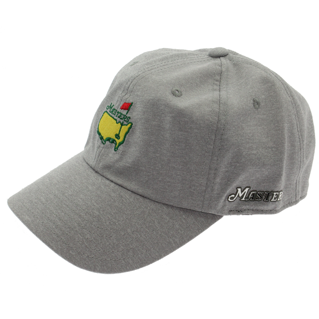 Masters Performance Tech Hat - Grey Reflective = Side Sharp Script