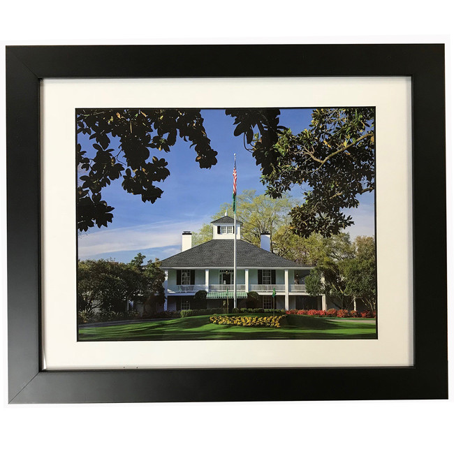 Masters Framed 14x18 Clubhouse Portrait