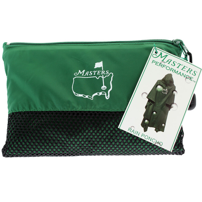 Masters Performance Green Rain Poncho