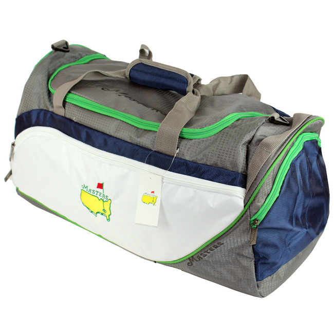 Masters Green Navy & White Duffle Bag