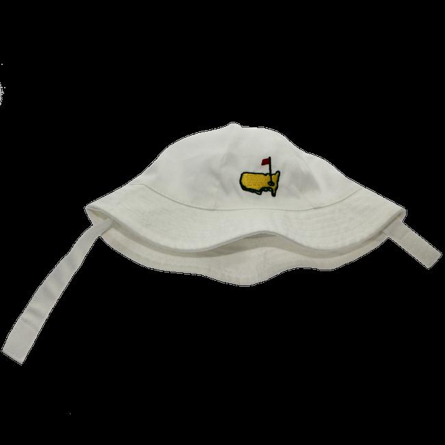 Masters Infant White Floppy Bucket Hat