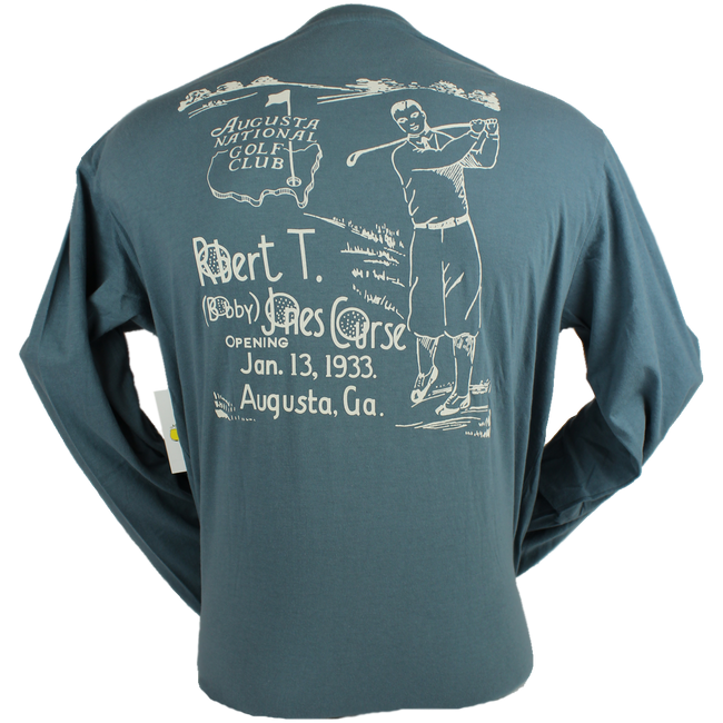 Masters Bobby Jones Blue Long Sleeve