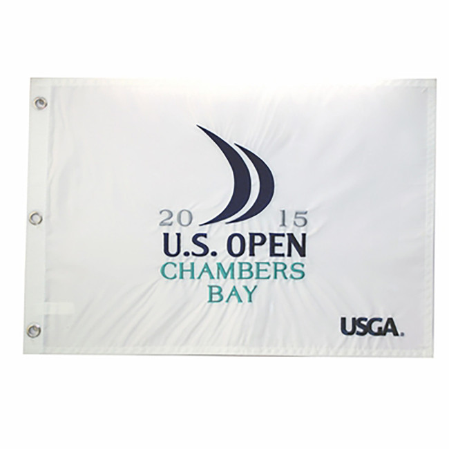 2015 US Open Embroidered Flag - Spieth Champ! Chambers Bay USGA