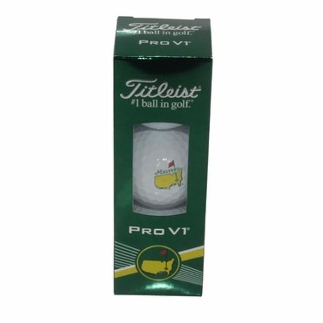 Masters 3 Pack Pro V 1 Golf Balls - 2016 Version