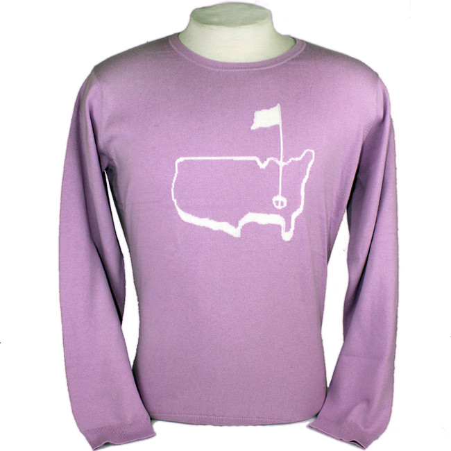 Ladies Magnolia Lane Cashmere Sweater-Lilac   * Last One Large Only!