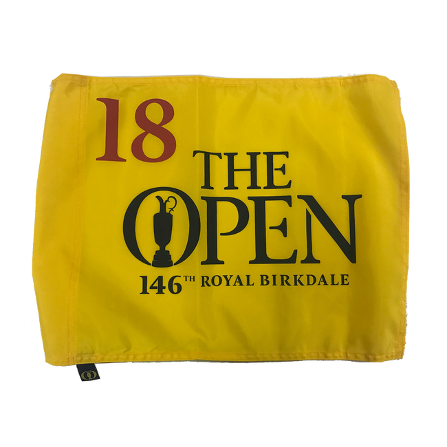 146th British Open Pin Flag Royal Birkdale *Spieth Champion