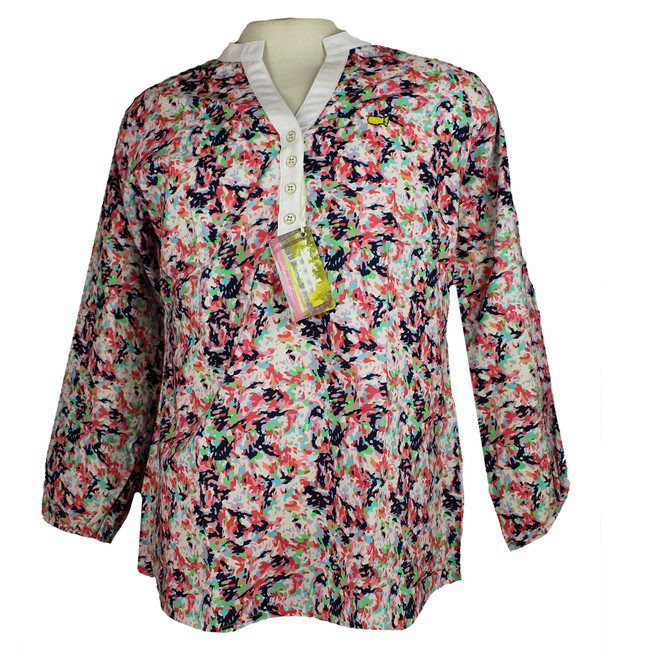 Masters Ladies Magnolia Lane Floral Tunic *Last One- MD Only
