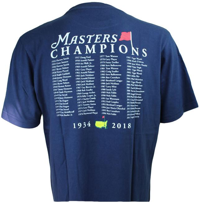 2018 Masters Champions T-Shirt - Navy