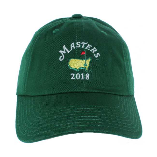 2018 Dated Masters Green Caddy Hat - Caddy Cap