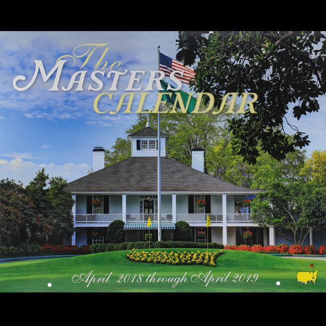 2018 Masters Calendar