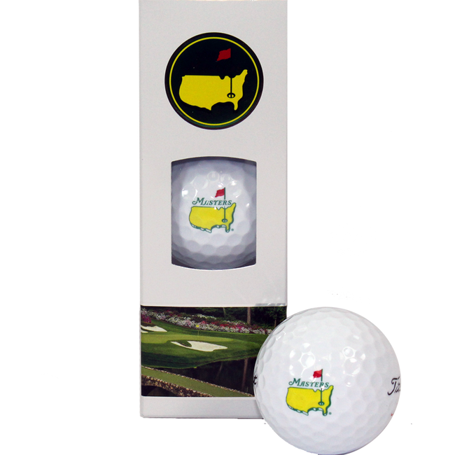 2018 Masters Golf Balls - 3 Pack Velocity Golf Balls