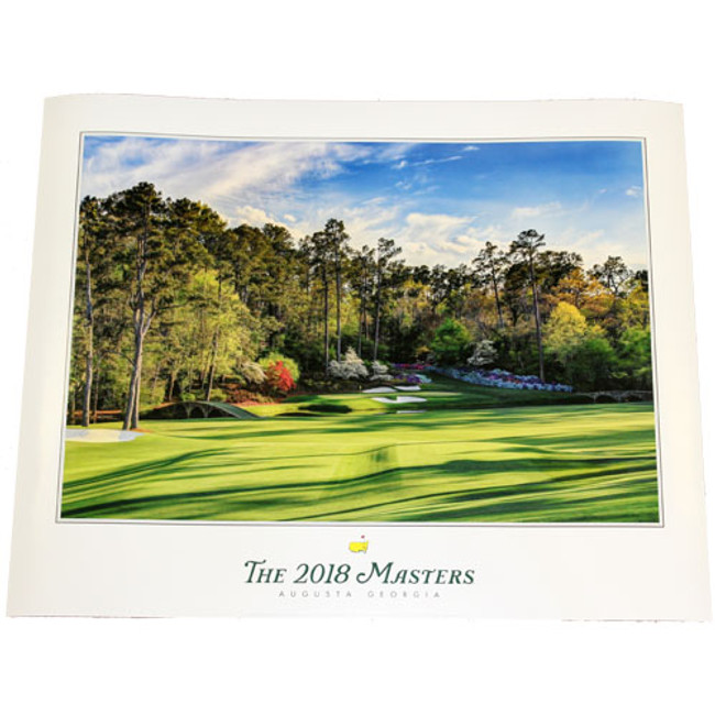 2018 Masters Poster