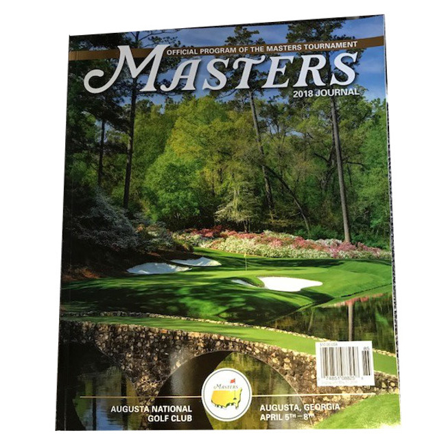 2018 Masters Journal * In Stock*