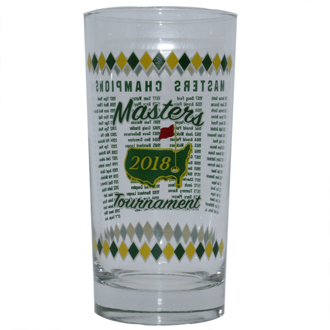 2018 Masters 13 oz Commemorative Glass