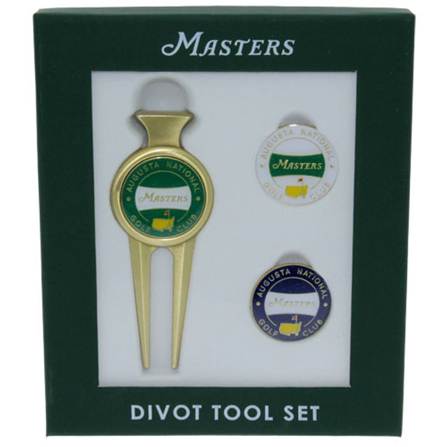 2018 Masters Divot Tool with Two Extra Ball Markers
