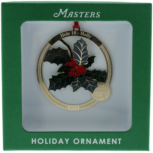 Masters 2018 Holiday Ornament - Hole 18 Holly