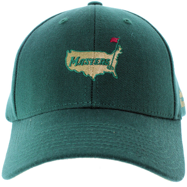 Masters Green Wool Structured Augusta National Hat