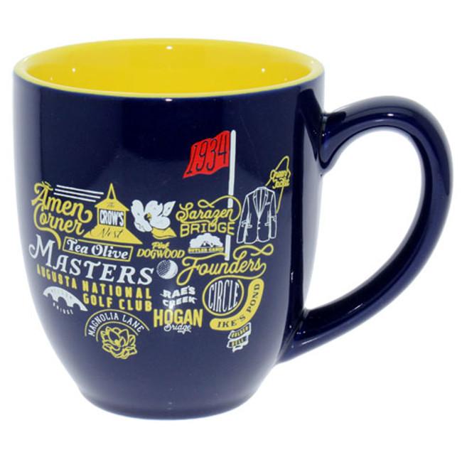 Masters Navy Iconic Logo Coffee Mug