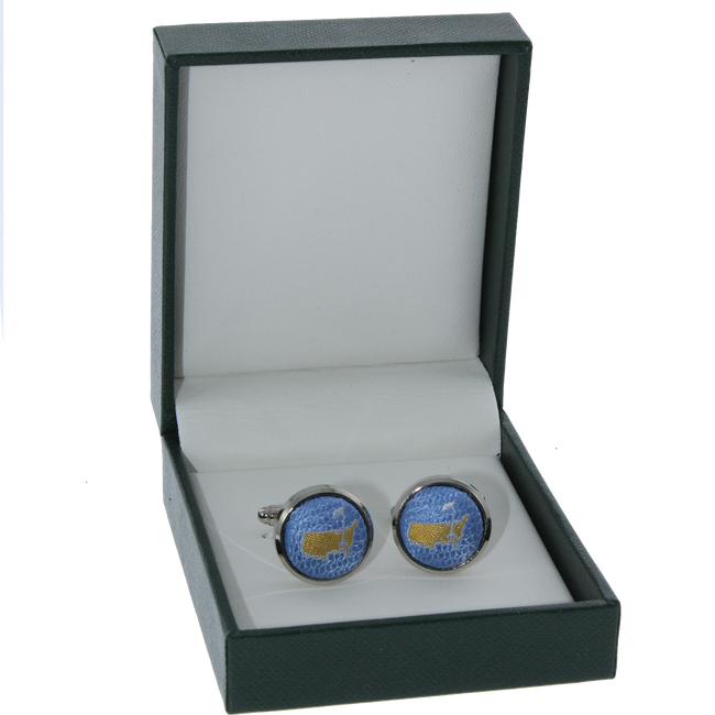 Masters Cuff Links - Sky Blue
