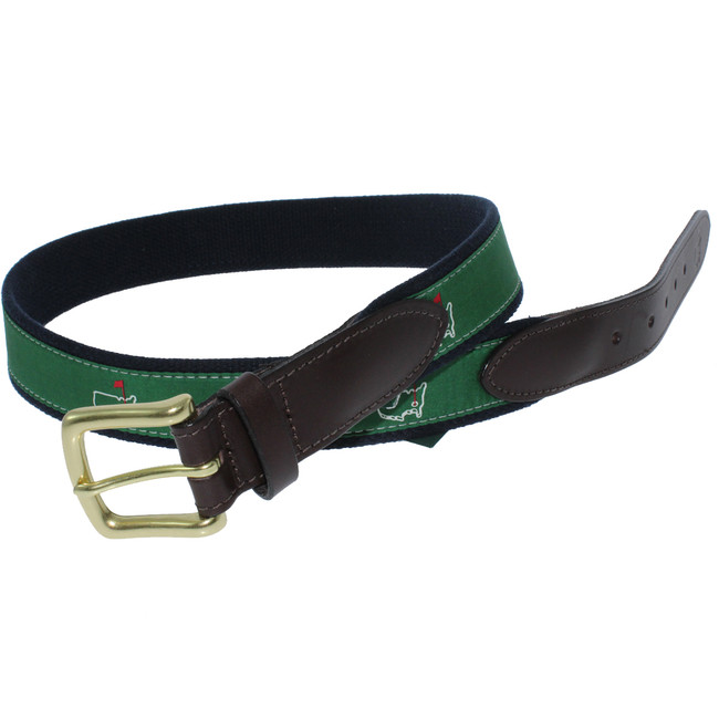 Masters Vineyard Vines Belt - Green