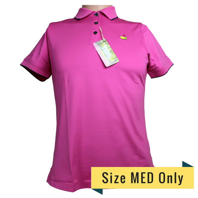 Masters Magnolia Lane Sweet Pea Performance Tech Golf Shirt