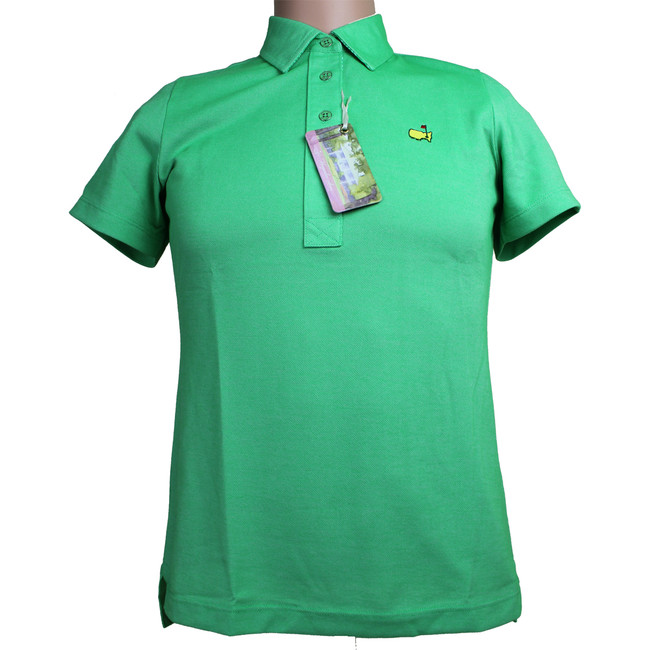 Masters Magnolia Lane Ivy Pique Golf Shirt
