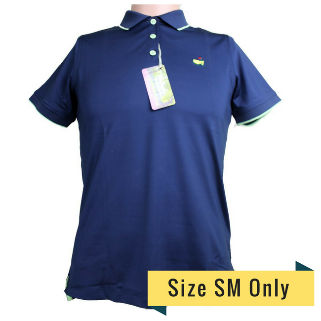 Masters Magnolia Lane Navy with Lime Tech Golf Shirt