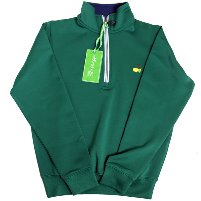 Masters Youth Performance Tech Green Jacket
