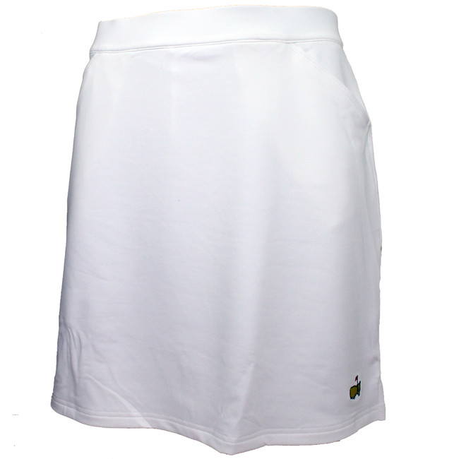 Masters Magnolia Lane Ladies Performance Tech Golf Skirt - White