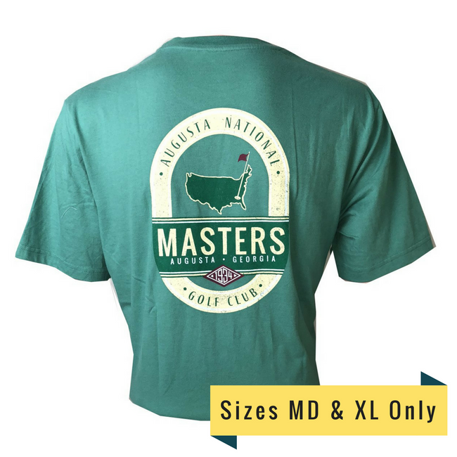 Masters 1934 Series Vintage Light Green T-Shirt