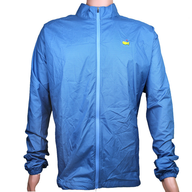 Masters Light Blue Foldable Rain Jacket