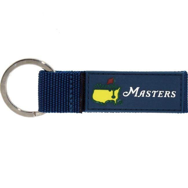 Masters Navy Web Key Chain