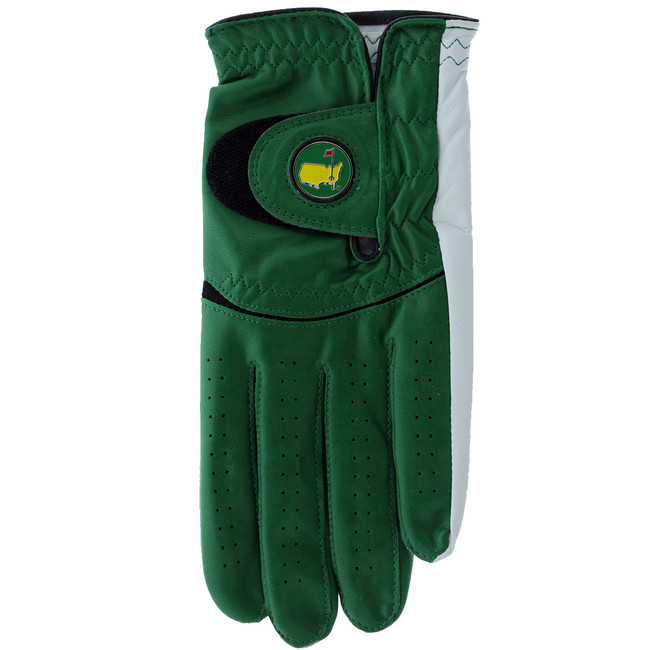 Masters Premium Leather Golf Glove - Green Men's
