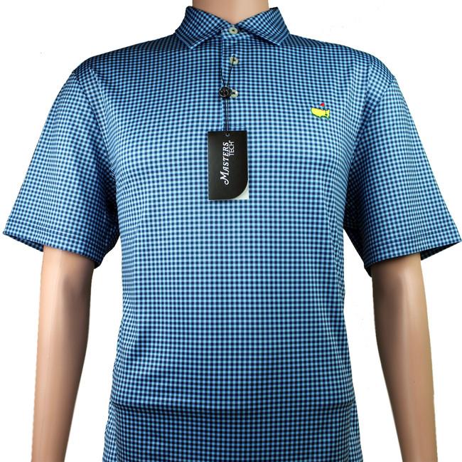 Masters Performance Tech Insignia Blue & Navy Golf Shirt