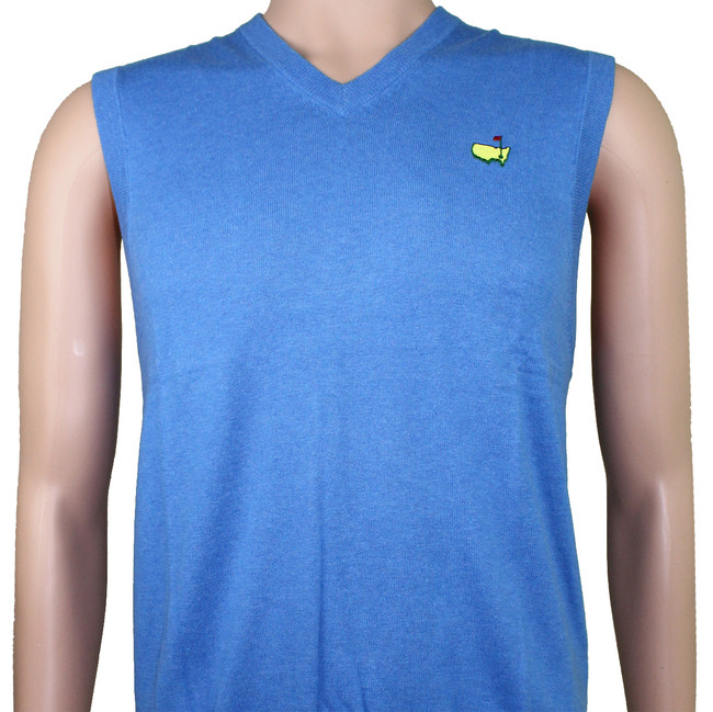Masters Collection Blue Sweater Vest-SM Only