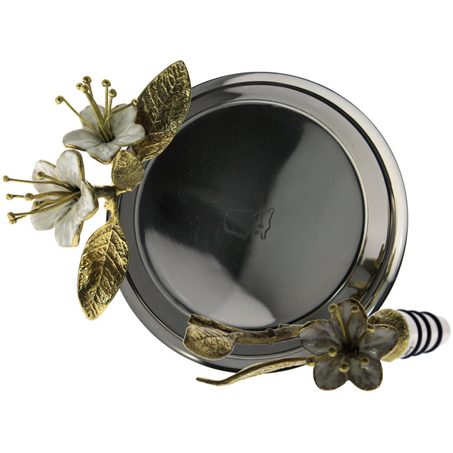 Masters Michael Aram Tray & Wine Stopper