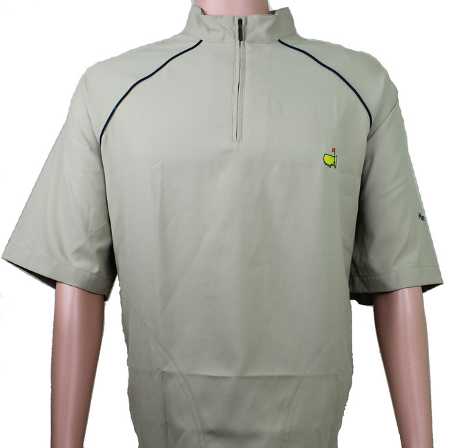 Masters Tan Short Sleeve Wind Shirt - LG Only