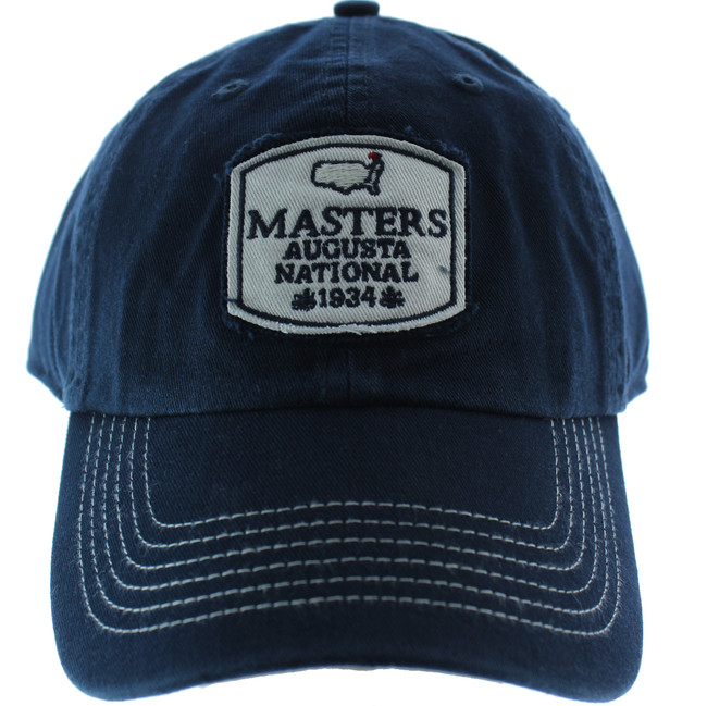 Masters 1934 Collection Vintage Augusta National Navy Slouch Hat