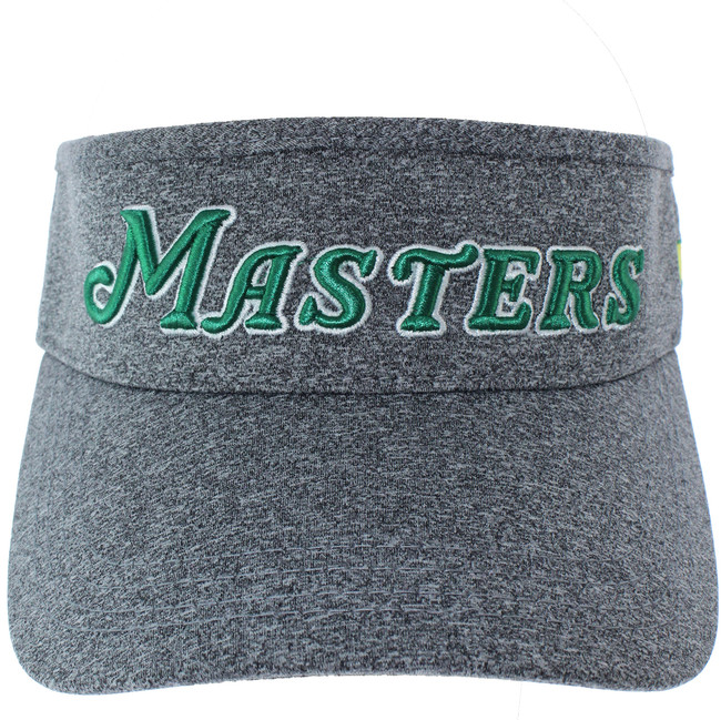 Masters Performance Tech Script Charcoal Tech Visor