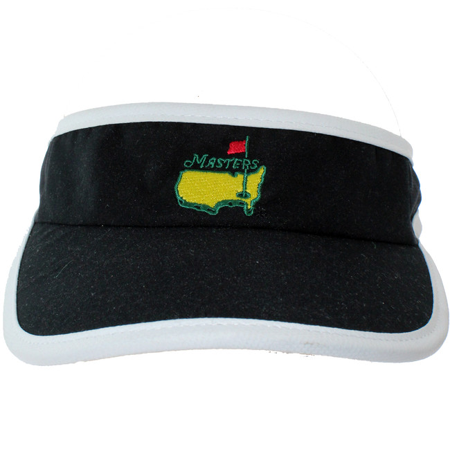 Masters Youth  Black & White Tech Low Rider Visor