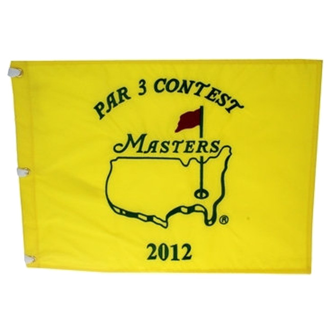 2012 Masters Dated Par 3 Flag