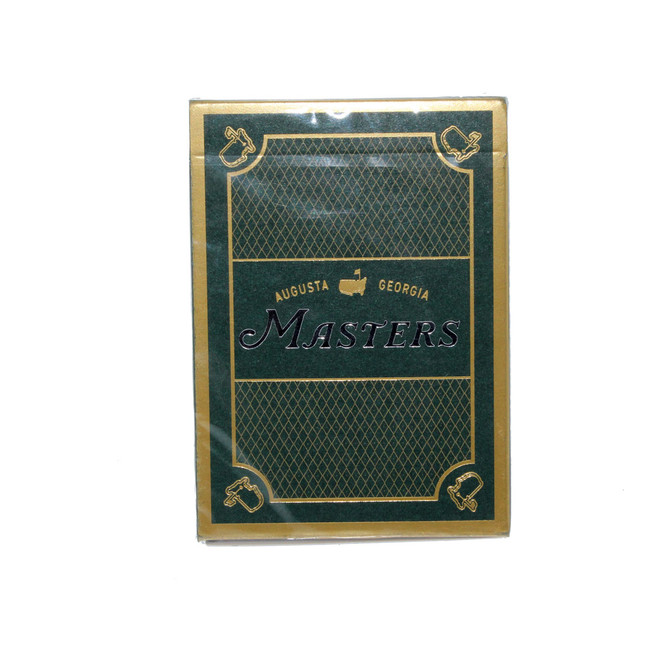 Masters 1934 Collection Playing Card Set - Green