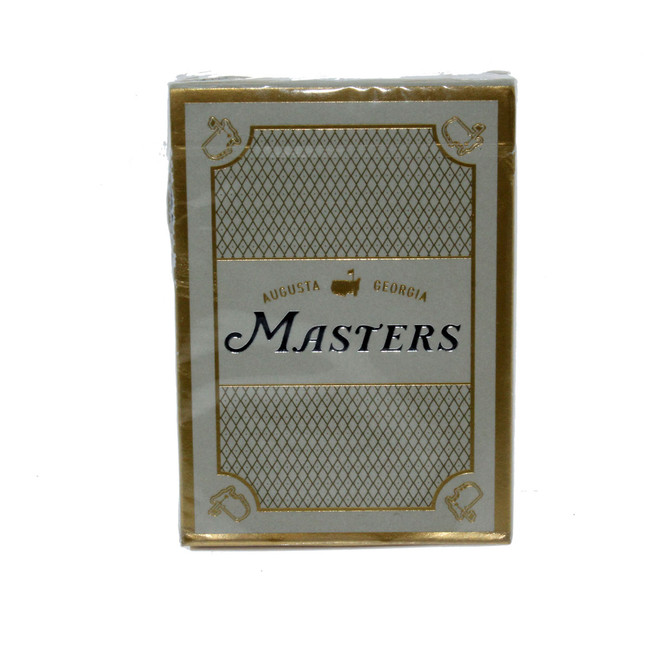Masters 1934 Collection Playing Card Set - Gold