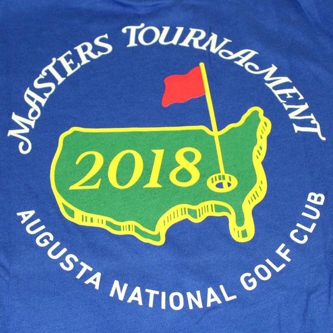 Masters Youth Royal Blue Small Logo T-Shirt
